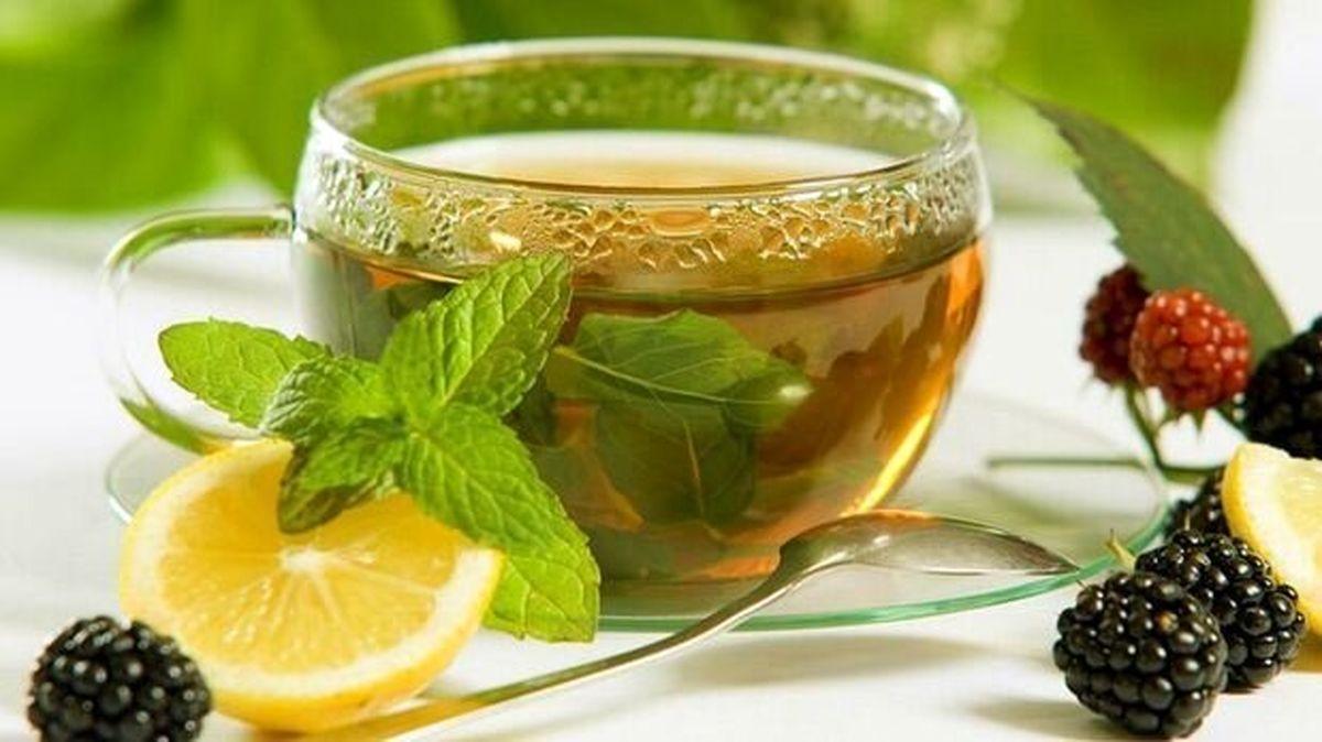 فواید مفید چای سبز با آبلیمو