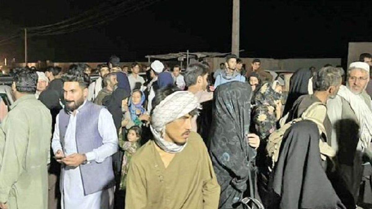 هجوم افغانها به مرز ایران