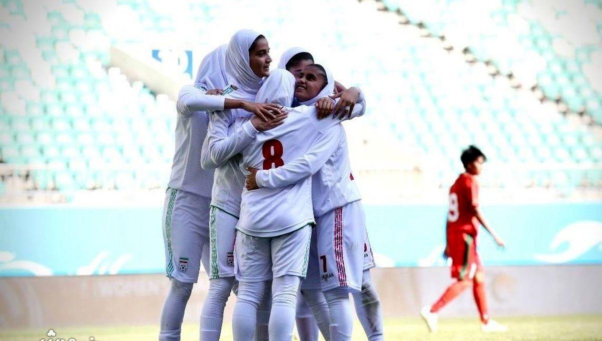 فوری | تیم ملی فوتبال زنان تاریخ سازی کرد