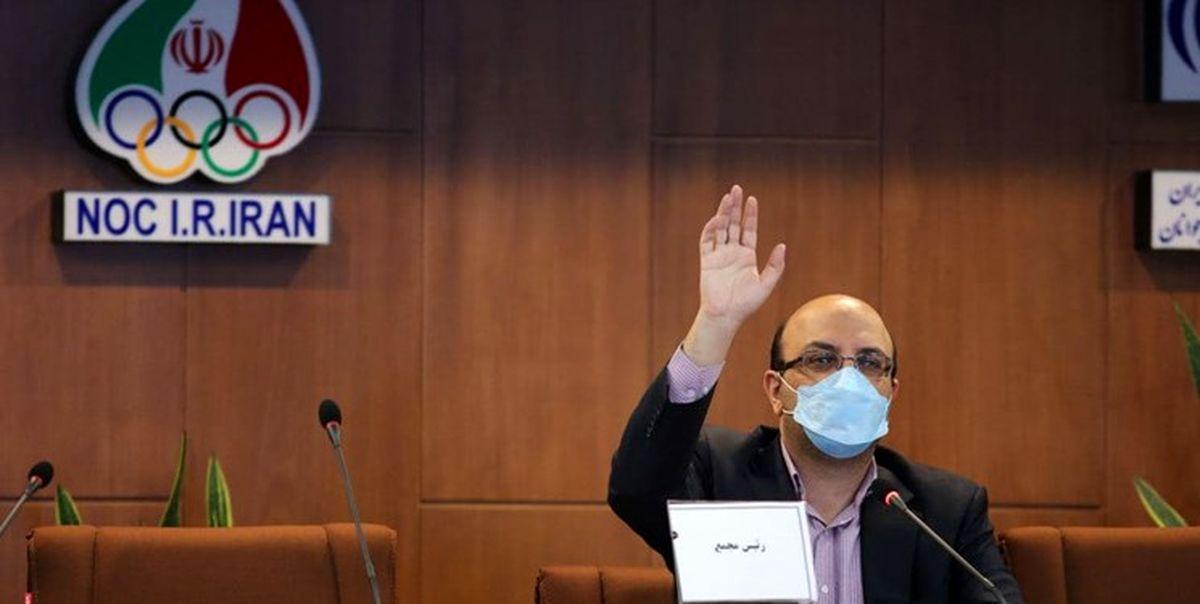 واکنش علینژاد به آوردن نام استقلال در مجمع بسکتبال